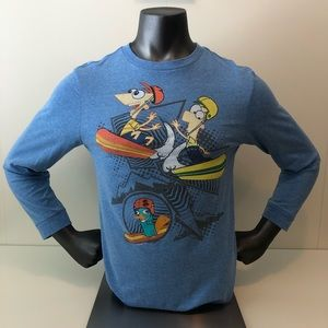Disney's Phineas and Ferb Collectible Longsleeve